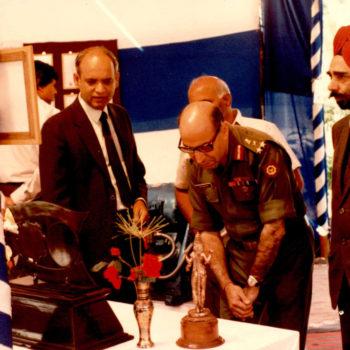 Defence Dignitaries at Saj