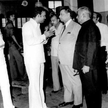Eminent Dignatories visiting SAJ