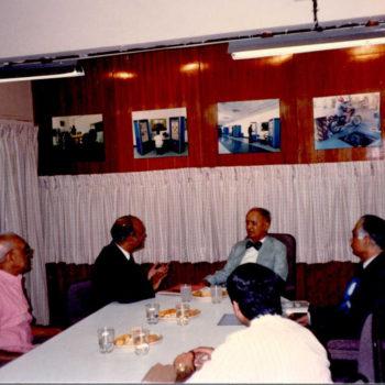 Visit of S.L. Kirloskar to Saj