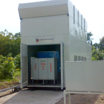 Containerised Genset Test Rig