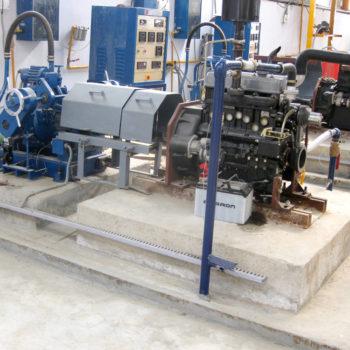 Sluicegate Dynamometer Installation