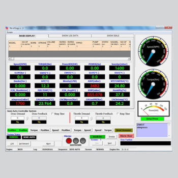 Saj Digital Computer Aided Test System Screens