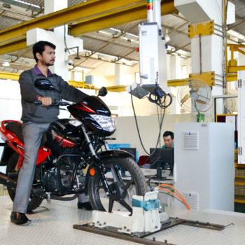 2W Emission Chassis Dyno